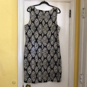 J. Jill Dresses - JJill wood block print sheath dress